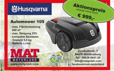 Aktion Husqvarna Automower 105