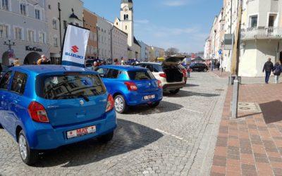 Große Autoschau im Mühldorf am Inn am 07.04.2019