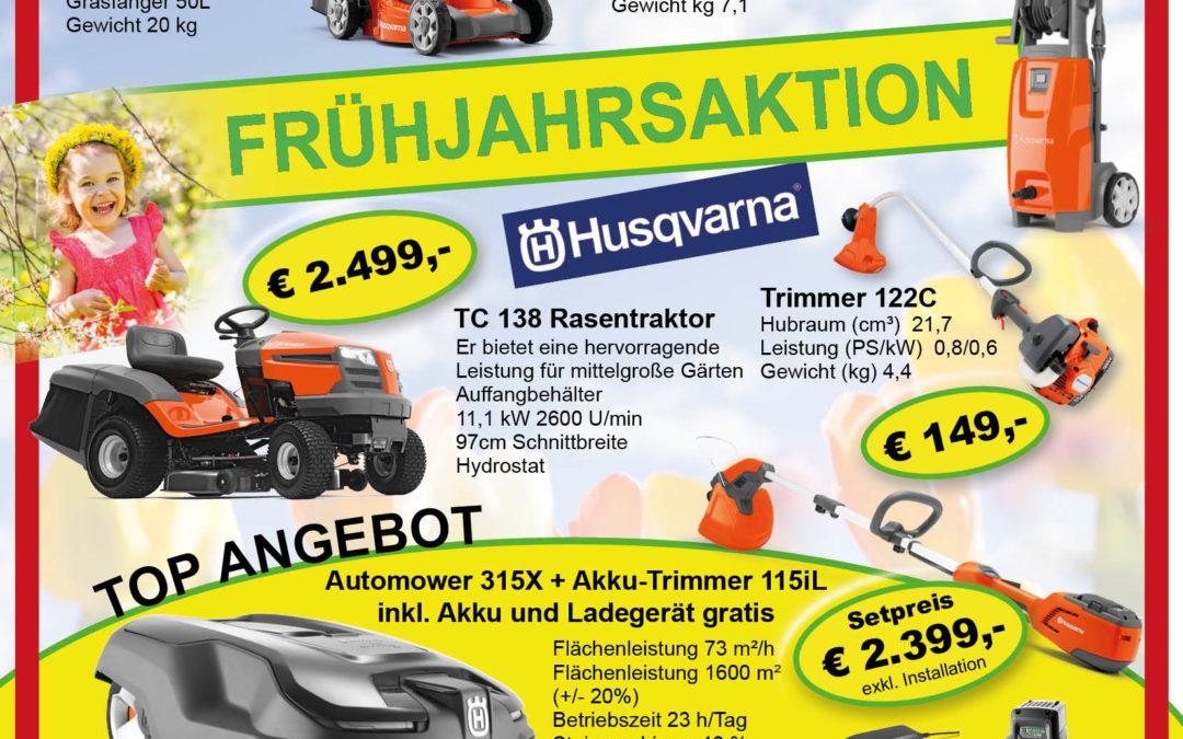 FRÜHJAHRSAKTION HUSQVARNA